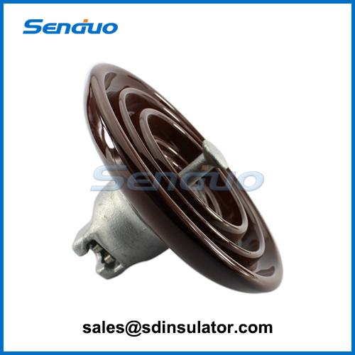 Ball and socket type porcelain disc insulator-Senduo insulator