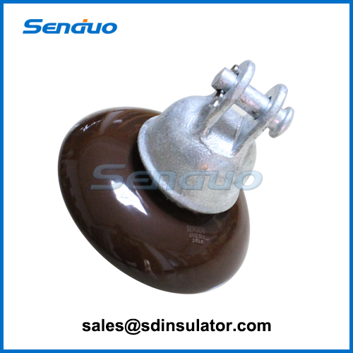 ANSI 52-1 Tongue & Clevis Type Porcelain suspension Insulator