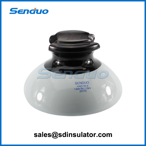 ANSI 55-5 Porcelain Pin Type Insulator