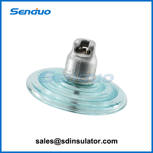 U120B Glass Electrical Power Line Insulators for sale